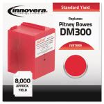 Innovera 7659 Compatible Remanufactured Ink, Meter, 8000 Yield, Red (IVR7659)