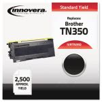 Innovera Remanufactured TN350 Laser Toner, 2500 Page-Yield, Black (IVRTN350)