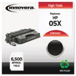 Innovera Remanufactured CE505X (05X) Laser Toner, 6500 Yield, Black (IVRE505X)