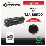 innovera-83012x-compatible-remanufactured-q2612x-4000-yield-black-ivr83012x