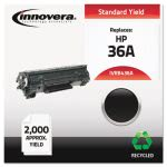 innovera-remanufactured-cb436a-36a-laser-toner-2000-yield-black-ivrb436a