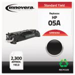Innovera Remanufactured CE505A (05A) Laser Toner, 2300 Yield, Black (IVRE505A)