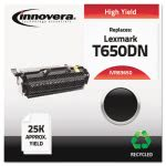 innovera-remanufactured-t650h21a-t650dn-toner-25000-yield-black-ivr83650