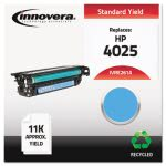 Innovera Remanufactured CE261A (648A) Laser Toner, 11000 Yield, Cyan (IVRE261A)