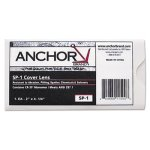 "Anchor Brand Replacement Cover Lens, 2"" x 4 1/4"", Clear, Plastic (ANRSP1)"
