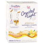 Crystal Light On the Go, Iced Tea, .16 oz Packets, 30/Box (CRY00757)