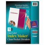 avery-index-maker-clear-label-three-hole-punch-view-dividers-letter-5set-ave75500