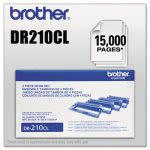 Brother DR210CL Drum Cartridge, 15000 Page-Yield, Black/Color (BRTDR210CL)
