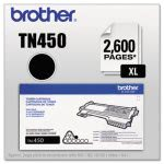 Brother TN450 (TN-450) High-Yield Toner, 2,600 Page-Yield, Black (BRTTN450)