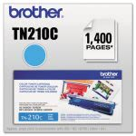 Brother TN210C Toner Cartridge, 1400 Page-Yield, Cyan (BRTTN210C)