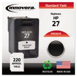 innovera-2027a-compatible-remanufactured-c8727an-27-ink-black-ivr2027a