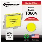 Innovera Remanufactured (60) Ink, Inkjet, Yellow, 1 Each (IVR860420)