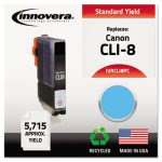 innovera-remanufactured-ink-cli8-5715-page-yield-photo-cyan-ivrcli8pc