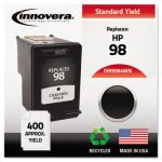 innovera-9364wn-compatible-remanufactured-c9364a-98-ink-545-page-yield-black-ivr9364wn