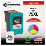 innovera-h75xlcl-compatible-remanufactured-cb338wn-ink-tri-color-ivrh75xlcl