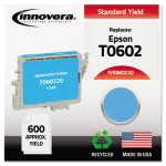 Innovera Remanufactured T060220 (60) Ink, 600 Page Yield, Cyan (IVR860220)