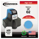 innovera-71wn-compatible-remanufactured-c8771wn-02-ink-cyan-ivr71wn