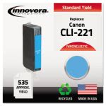 innovera-remanufactured-2947b001-cli221-ink-cyan-ivrcncli221c
