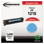 Innovera Remanufactured CB541A (125A) Laser Toner, 1400 Yield, Cyan (IVRB541A)