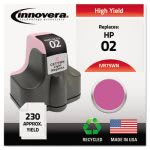innovera-75wn-compatible-remanufactured-c8775wn-02-ink-lt-magenta-ivr75wn