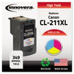 Innovera Remanufactured (CL211XL) Ink, 349 Page Yield, Tri-Color (IVRCL211XL)