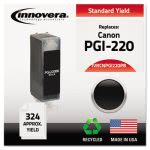 innovera-remanufactured-2945b001-pgi220-ink-black-ivrcnpgi220pb