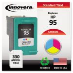 innovera-66wn-compatible-remanufactured-c8766wn-95-ink-tri-color-ivr66wn