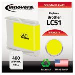 innovera-20051y-compatible-remanufactured-lc51y-ink-yellow-ivr20051y
