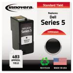 Innovera M4640 Compatible, Remanufactured, J5566 Ink, Black (IVRM4640)