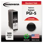 innovera-remanufactured-pgi5-ink-inkjet-black-1-each-ivrpgi5bk
