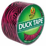duck-colored-duct-tape-188-x-10-yds-3-core-pink-zebra-duc280338