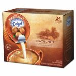 International Delight Coffee Creamer, Hazelnut, .44 oz, 24 Creamers (ITD100680)