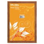 plastic-poster-frame-traditional-wplexiglas-window-24-x-36-oak-dax285636x