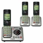 Vtech Cordless Digital Answering System, Base and 2 Handsets (VTECS66293)