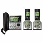 vtech-cs6649-2-digital-answering-system-corded-base-and-2-cordless-handsets-vtecs66492