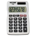 victor-8-digit-handheld-calculator-8-digit-lcd-white-each-vct700