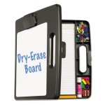 Officemate Portable Whiteboard Clipboard Case w/4 Compartments (OIC83382)