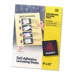 avery-clear-self-adhesive-laminating-sheets-3-mil-9-x-12-10pack-ave73603
