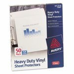 avery-top-load-vinyl-sheet-protectors-heavy-gauge-clear-50-sheets-ave73907