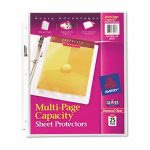 avery-multi-page-top-load-sheet-protectors-heavy-gauge-letter-clear-25pack-ave74171