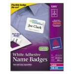 avery-flexible-self-adhesive-laserinkjet-name-badge-labels-2-13-x-3-38-we-400bx-ave5395