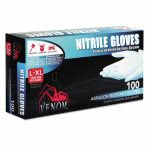 medline-venom-exam-gloves-large-black-powder-free-100-box-miiven4145