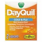 DayQuil Daytime Cold & Flu Caplets Dispenser Refills, 20 Two-Packs (LIL97047)
