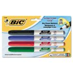 bic-grip-dry-erase-markers-fine-point-assorted-4-markers-bicgdep41asst