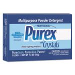 Purex Powder Laundry Detergent, Mountain Breeze, 156 Vend Pack Boxes (DIA10245)
