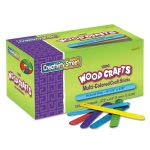 Chenille Kraft Colored Wood Craft Sticks, Assorted, 1000 Sticks (CKC377502)