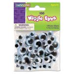 Creativity Street Wiggle Eyes Assortment, Assorted Sizes, 100/Pack (CKC344602)
