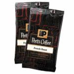 Peet's Coffee Portion Packs, French Roast, 2.5-oz Pack, 18 Packs (PEE504914)