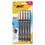 bic-intensity-permanent-pen-05-mm-fine-assorted-5pack-bicfpinap51ast