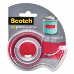 scotch-expressions-magic-tape-with-dispenser-34-x-300-red-mmmc214redd